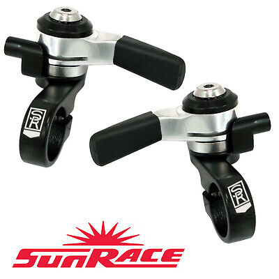 AU43.55 • Buy Sun Race M96 Left Friction & Right 8 / 9 Speed Thumb Shifters