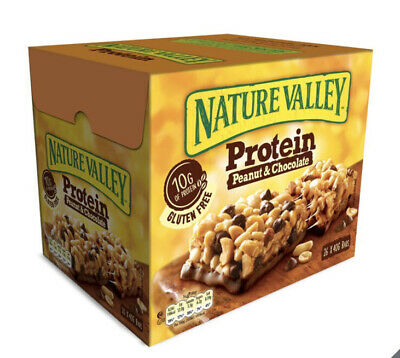 £19.99 • Buy Nature Valley Protein Chocolate & Peanut Cereal Bars - 26 Bars X 40g