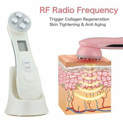 AU55.98 • Buy Facial 5 In 1 LED Skin RF Tightening Beauty Photon Light Therapy  Skin Care