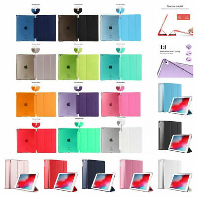 AU9.95 • Buy Smart Cover Hard Back Case For Apple Air4 IPad 8th 7th 6th 5th Gen 10.5 Mini Pro