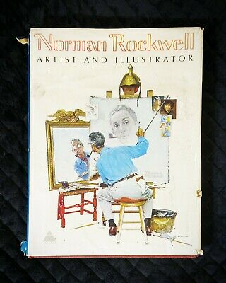 $ CDN191.90 • Buy Norman Rockwell Artist And Illustrator 1st Edition 70 Book Abrams With Xtra Gift