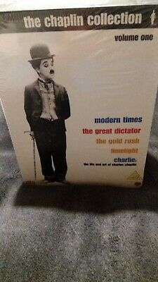 £20 • Buy CHARLIE CHAPLIN COLLECTION Modern Times. Gold Rush.great Dictator.dvd Boxset New