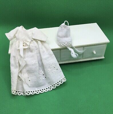 $ CDN32.95 • Buy Vintage Barbie Babysits Christening Gown And Matching Bonnet