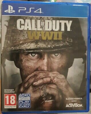 Call Of Duty WWII (ACTIVISION, 2017) • 9.39£