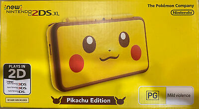 AU375 • Buy Nintendo 2ds Xl Pikachu Edition Console BRAND NEW / UNOPENED