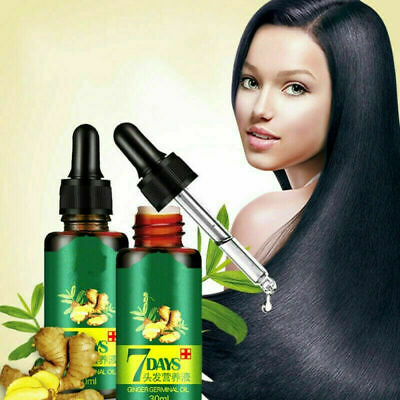 AU19.98 • Buy ReGrow 7 Day Ginger Germinal Hair Growth Serum Hairdressing Oil Loss Treatment