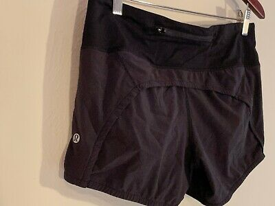 $ CDN25 • Buy Lululemon Speed Shorts Size 6 Black Lined