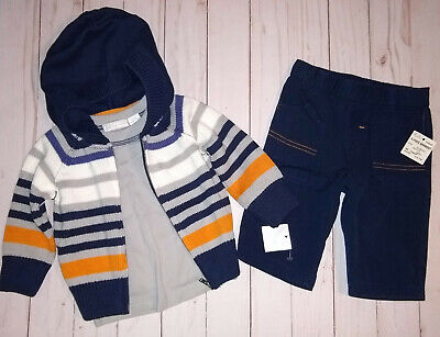 $29.97 • Buy First Impressions Baby Boy 3 Piece Set Size 0-3 Months NWT