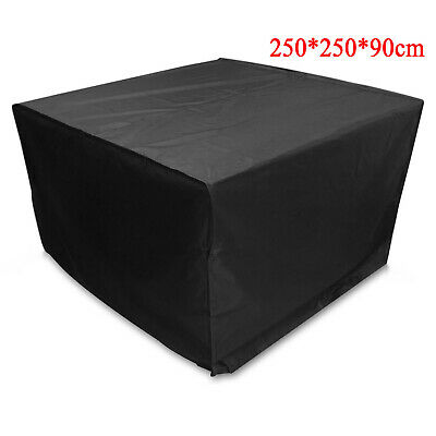 £16.99 • Buy Furniture Table Cover For Rattan Table Cube Set Outdoor Patio Waterproof Rain