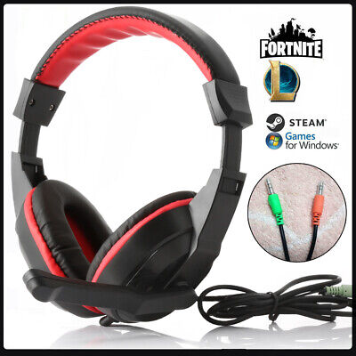 £11.99 • Buy Gaming Headset USB Wired Over LED Headphones Stereo Mic For Xbox One/PS4 PC PS5