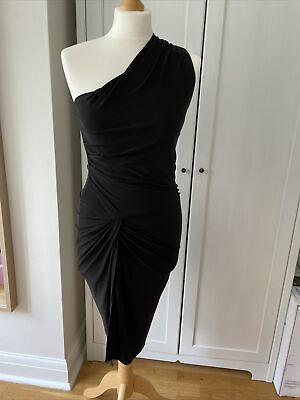Celeb Boutique Black Evening Dress Size Small • 4.99£