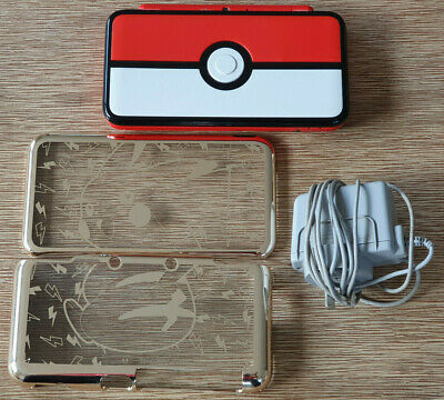 AU299.99 • Buy New Nintendo 2DS XL Poke Ball Limited Edition Console + Charger + Pikachu Cover