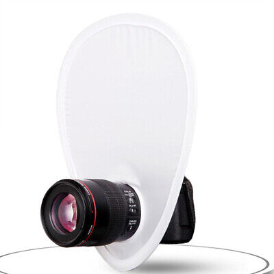 White Collapsible Portable Photo Reflector Fotografia Photography Accessor Ls^BX • 3.21£