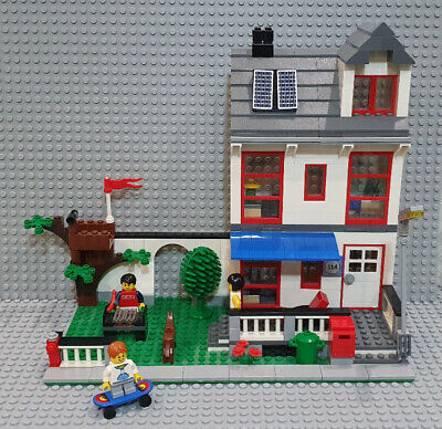 Lego City House (8403) - Good Condition - 100% Complete, Minfigures+Instructions • 9.95£