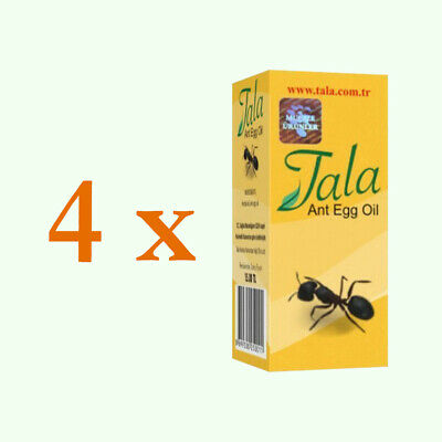 £23.88 • Buy 4 X Tala Ant Egg Oil 20ml Organic Hair Removal Original And Natural Unisex