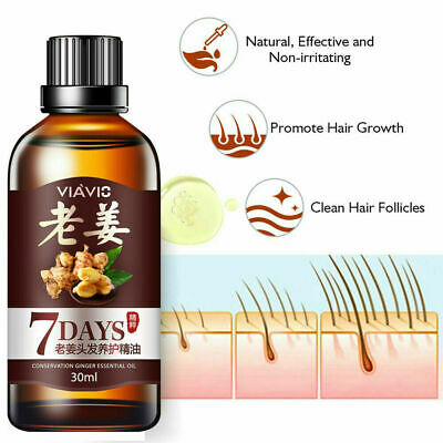 AU8.88 • Buy ReGrow 7 Day Ginger Hair Oil Germinal Growth Serum Hairdressing Loss Treatment