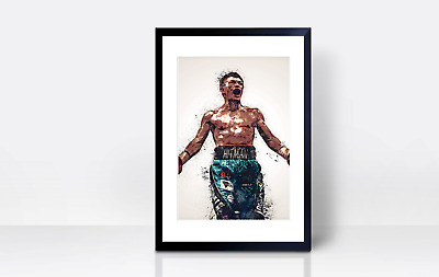 £3.99 • Buy Ricky Hatton Wall Print | A4 | Art | Gift | Home Decor | Manchester | Boxing
