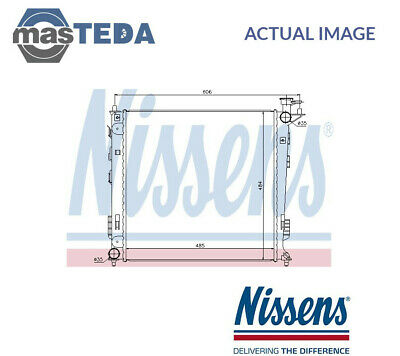$220 • Buy Nissens Engine Cooling Radiator 67517 G New Oe Replacement