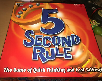 AU23.56 • Buy University Games 5 Second Rule Board Game - NEW But Unsealed Box - Free Post
