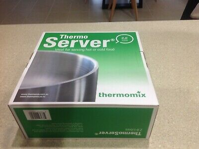AU105 • Buy Thermomix Thermoserver 2.6L Insulated Stainless Steel Thermos Server Round