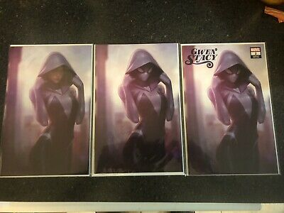 $ CDN219.31 • Buy GWEN STACY #2 JEEHYUNG LEE (3 Comic Complete Set) UNGRADED!