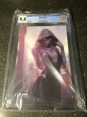 $ CDN219.31 • Buy Gwen Stacy #2 CGC 9.8 JeeHyung Lee Masked Variant