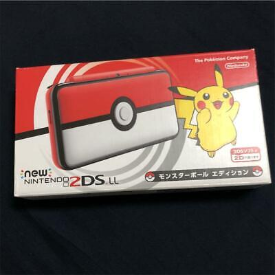 AU309.34 • Buy Nintendo 2DS LL XL Pokemon Monster Ball Edition Game Console W/ Box Used JP