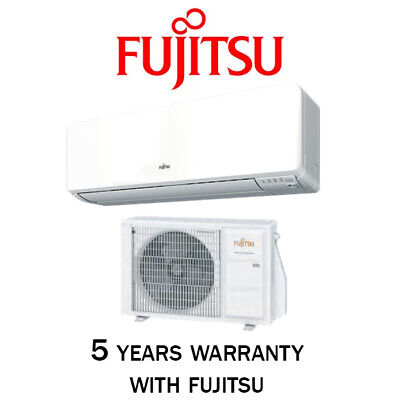 AU988 • Buy Fujitsu Cool Heat Split System Inverter Reverse Cycle Air Conditioning Aircon