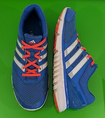 $ CDN31.33 • Buy ADIDAS Women's Sz 8.5 Falcon PDX Running Shoes Blue White Coral Orange Sneakers
