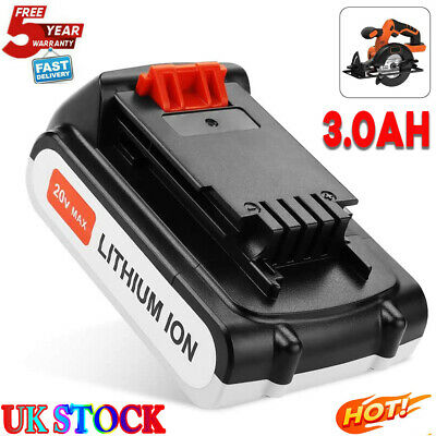 £15.99 • Buy Replacement Lithium Battery For Black &Decker LBXR20 BL1518 LCS1620 LDX220 3.0AH