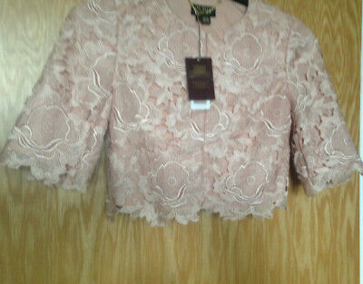 AU12.49 • Buy Ted Baker Langley Jacket Peach, Short Cropped UK 6, BNWT Ted Baker  Size 0