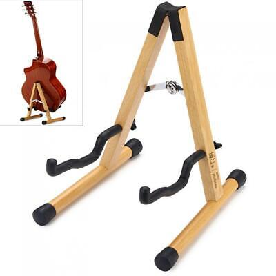 $ CDN35.13 • Buy Guitar Stand Solid Wood Floor Guitar Stand Thicken Beech Stable Holder For Bass