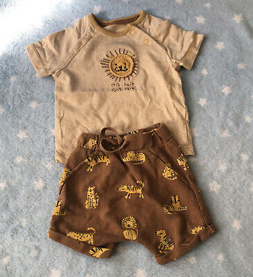 AU2.14 • Buy 0-3 Months Summer Outfit Baby Boy Clothes