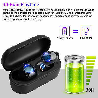 $ CDN16.24 • Buy Bluetooth 5.0 Earbuds Headset  TWS Wireless Headphones Smart Touch Headset