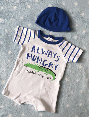 AU3.39 • Buy Baby Boy Outfits 0-3 Months Romper Summer Clothes