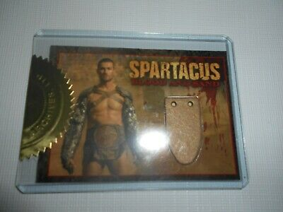Andy Whitfield /Spartacus  Blood And Sand  Official Card Limited Edition N. CC1 • 365.48£