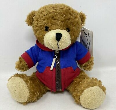 £8.99 • Buy Girl Guiding UK Guide Brown Teddy Bear Hoodie Plushies Soft Toys Tagged Cuddles