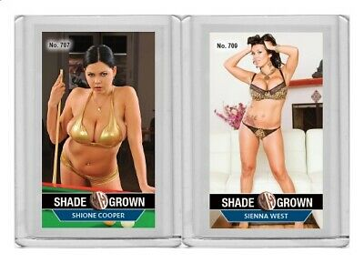 $ CDN6.07 • Buy Sienna West Rare MH Shade Grown #'d 1/3 Tobacco Card No. 709