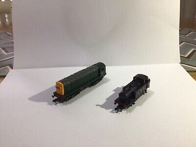 AU35 • Buy Class 20 N Scale Model Train And A 3F Jinty Steam Loco NON RUNNERS