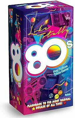 AU5.50 • Buy Like Totally 80s Pop Culture With Spotify Trivia Game From Buffalo Games
