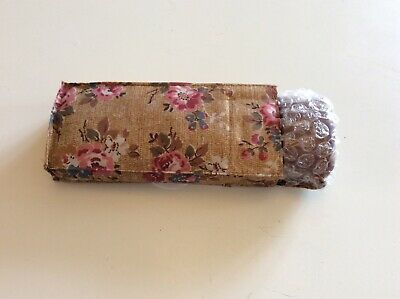 Cath Kidston Tiny Umbrella Kingswood Rose Tan Floral New By Fulton BRAND NEW • 14.99£