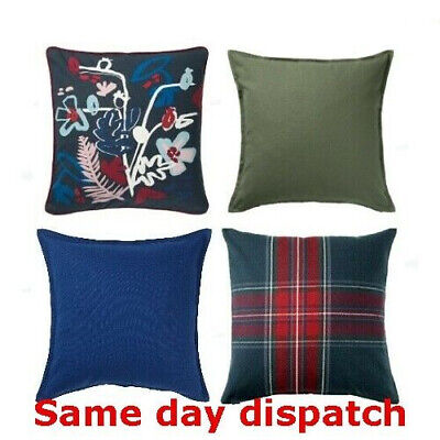 £4.50 • Buy IKEA GURLI Cushion Cover 50cm X 50cm 100% Cotton New UK FREE Fast Delivery √