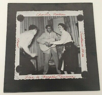 £14.49 • Buy Rockabilly LP CHARLIE FEATHERS Live In Memphis Tennessee BARRELHOUSE