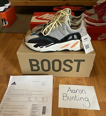 $ CDN518.17 • Buy Adidas Yeezy Boost 700 Wave Runner Size 8.5UK With Receipt & Tags