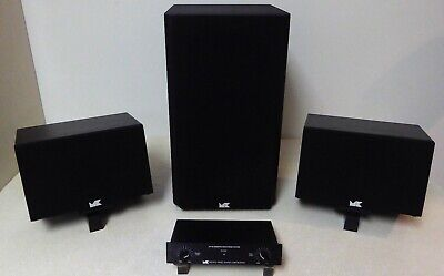 $600 • Buy M&K 4-piece Speaker System, Excellent Condition, Local Pick-up Only!!