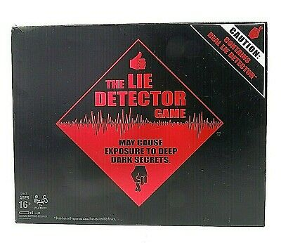 £15.94 • Buy Hasbro The Lie Detector Game Adult Party Game Open NIB 16+ Years