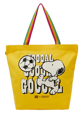 £19.90 • Buy  Levi's®  Snoopy Sport Goal Tote Bag Yellow Colour New With Tag