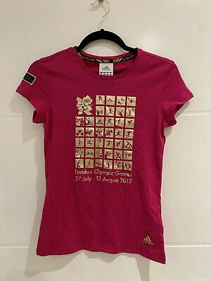 £20 • Buy Official London 2012 Olympic Merchandise T-Shirt - Pink- Size 10 - BRAND NEW