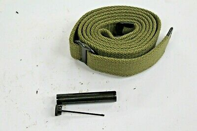 $15 • Buy New .30 M1 Carbine Od Khaki Sling With Oiler Y39