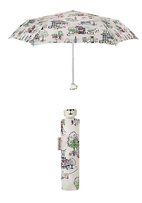 £19.90 • Buy Cath Kidston Billie Goes To Town Dog Head Handle Umbrella Ivory Colour